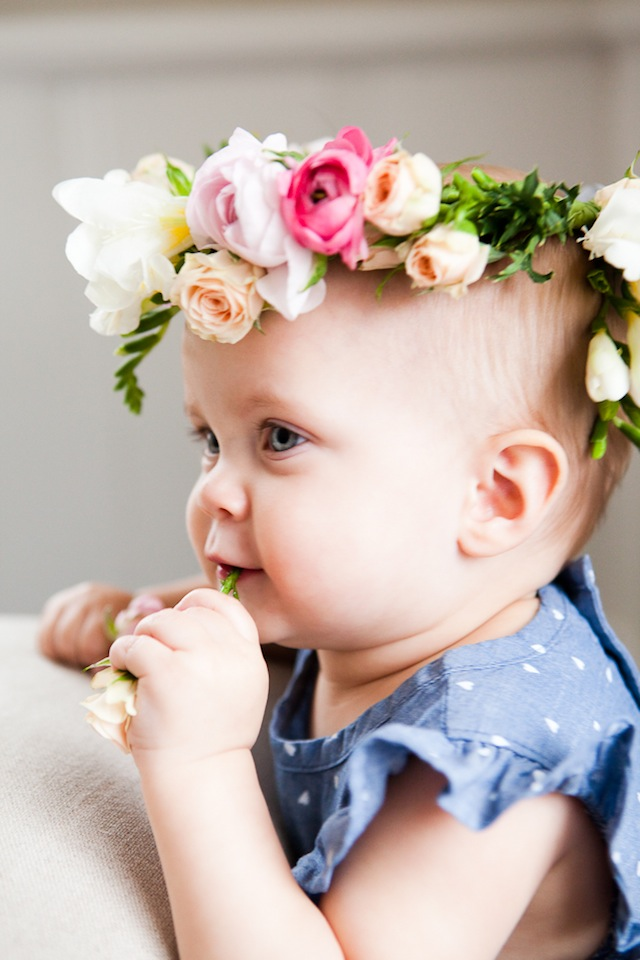 DIY Floral Crown :: The Effortless Chic 1