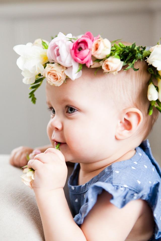 DIY Floral Crown :: The Effortless Chic 1