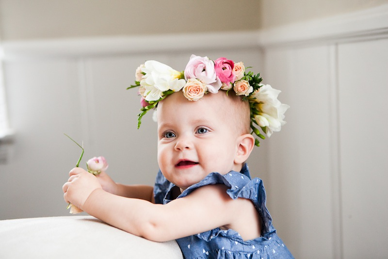 DIY Floral Crown :: The Effortless Chic 11