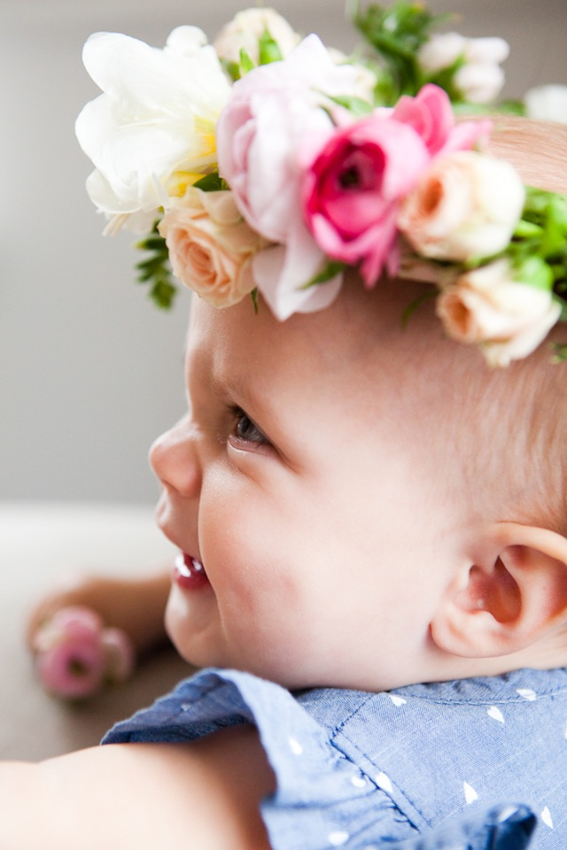 DIY Floral Crown :: The Effortless Chic 12