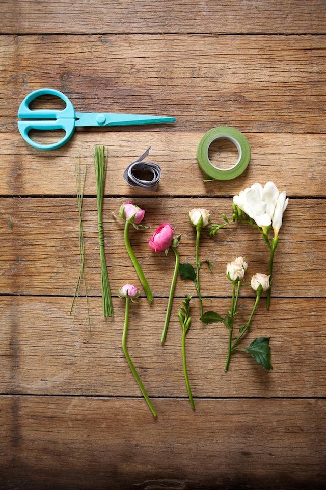 DIY Floral Crown :: The Effortless Chic 2