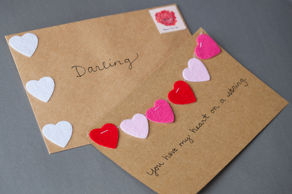 DIY Valentines Day Cards The Effortless Chic A lifestyle – What to Right on a Valentine Day Card