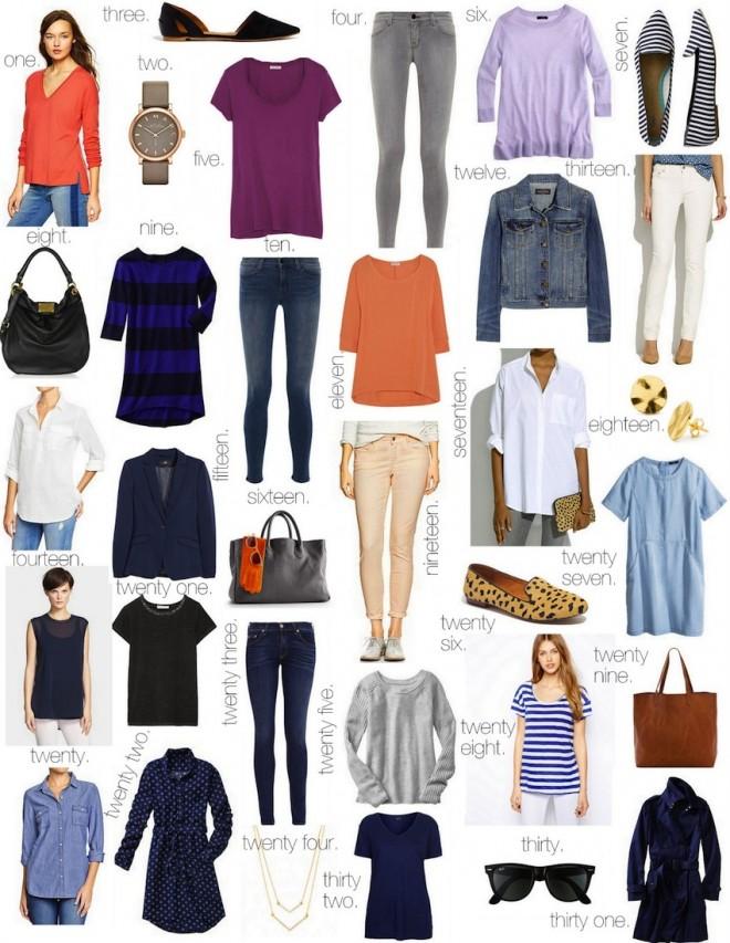 Every Day Wardrobe Essentials :: The Effortless Chic