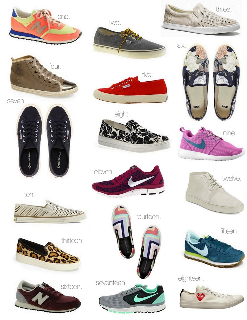 Favorite Sneakers :: The Effortless Chic
