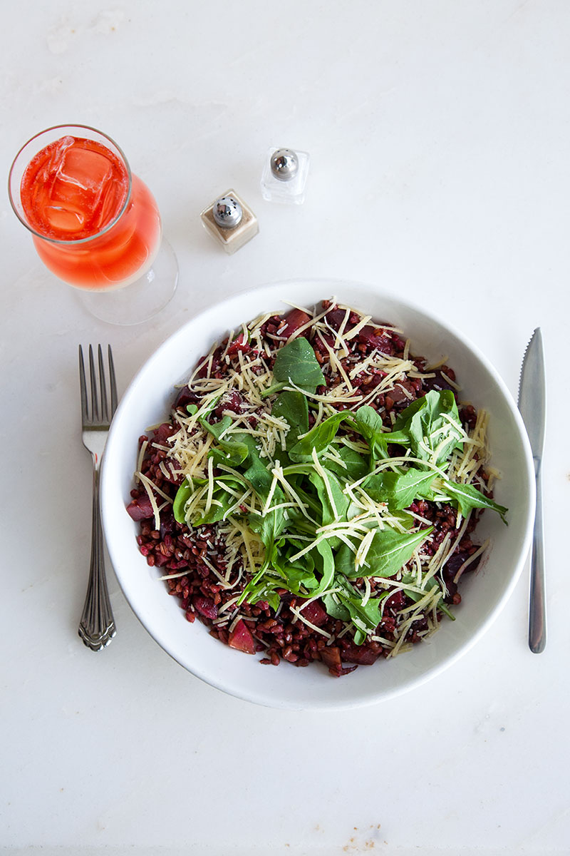 Roasted Beet Farro Salad :: The Effortless Chic 1