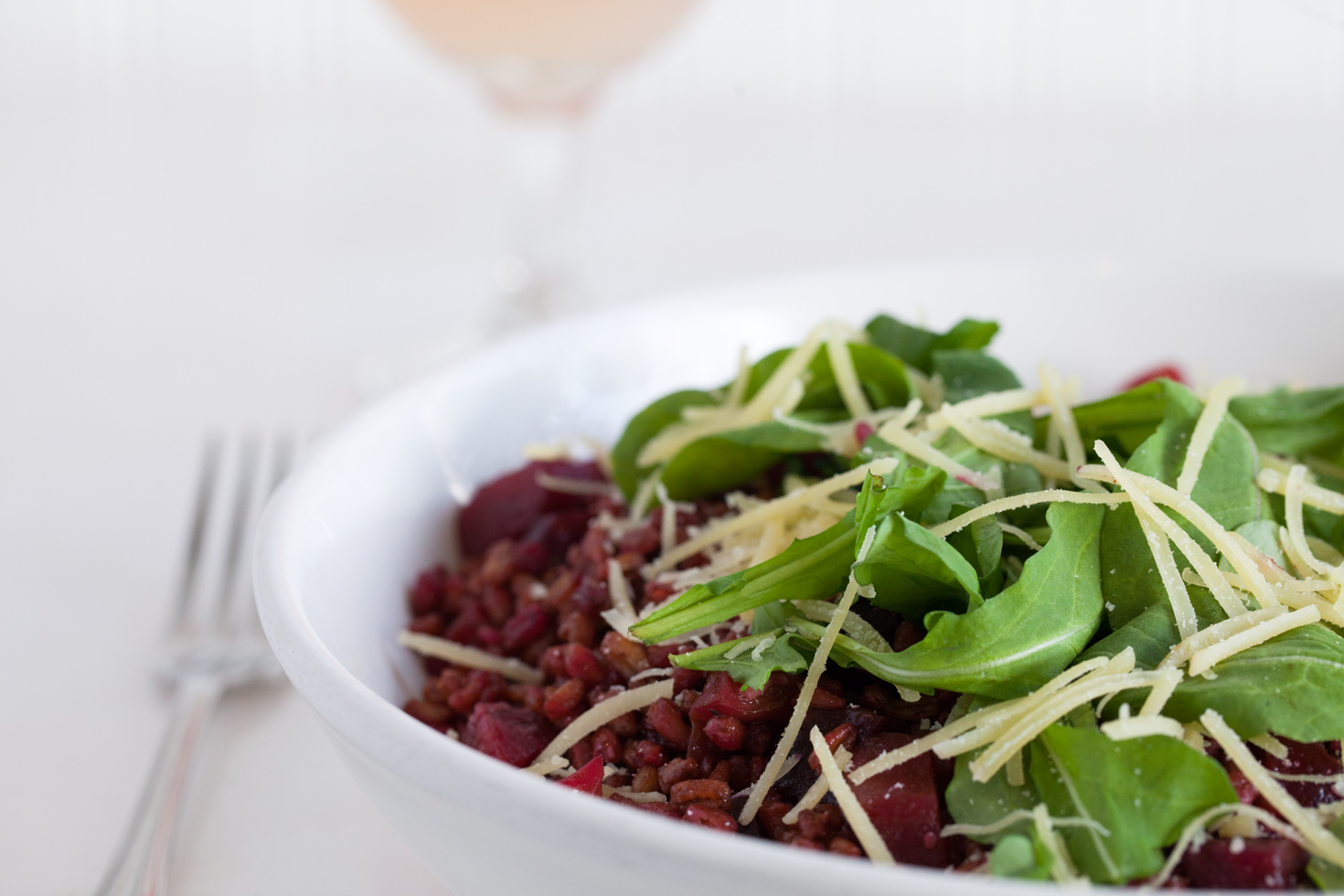 Roasted Beet Farro Salad :: The Effortless Chic 2