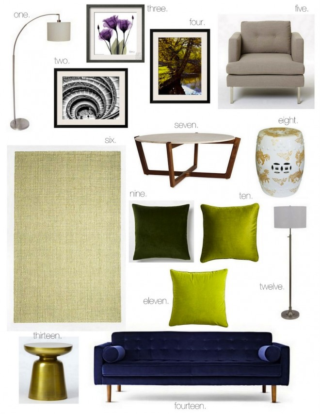 Vibrant Vignettes :: Ornate Living Room