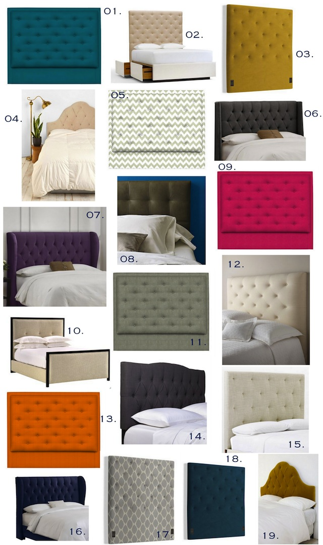 Get The Look :: Tufted Headboards