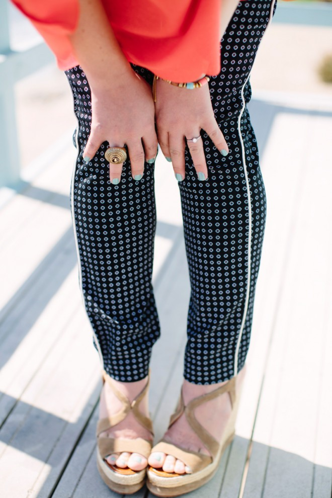 Old Navy Pixie Pants :: The Effortless Chic 5