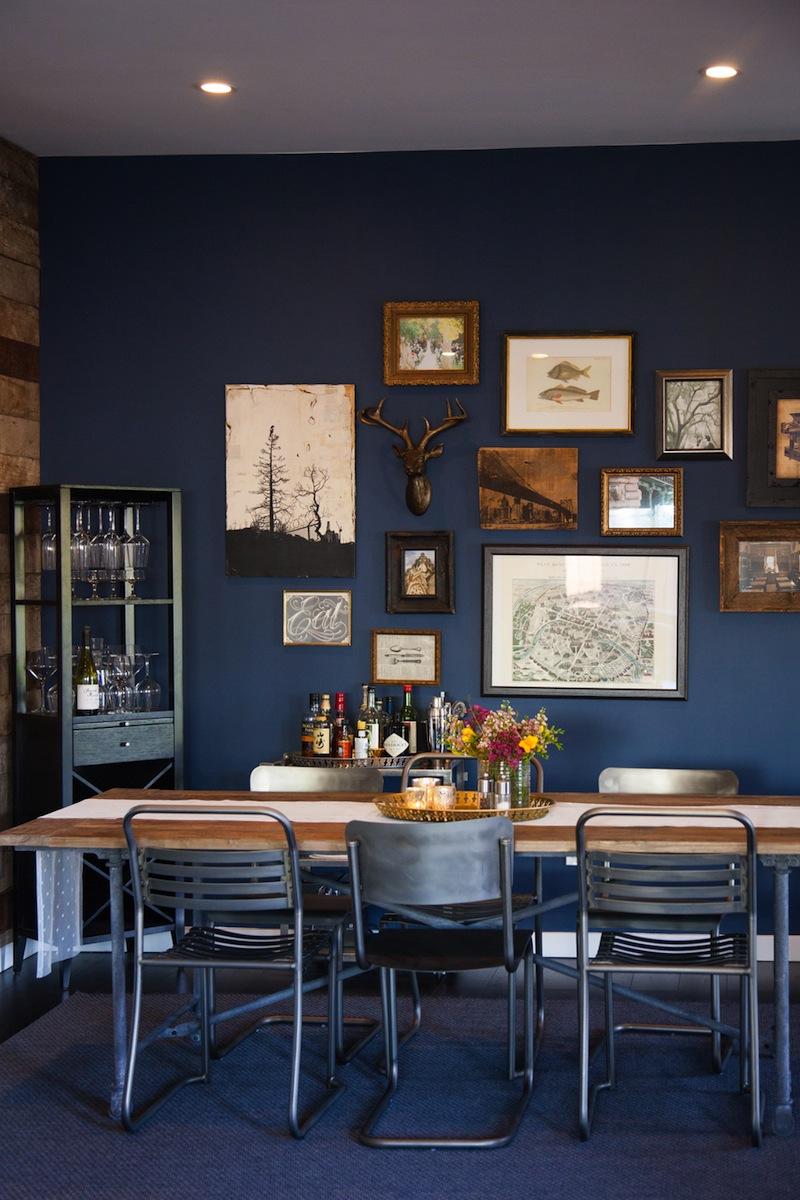 Sneak A Peek Kate S Industrial Chic Living Room The