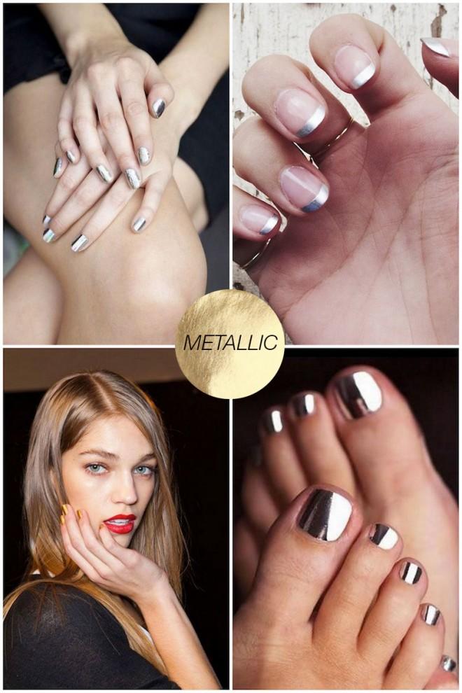 Spring-Nail-Ideas-Metallics