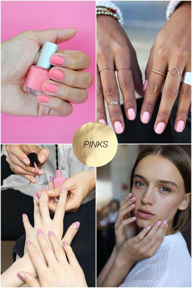 Spring-Nail-Ideas-Pinks
