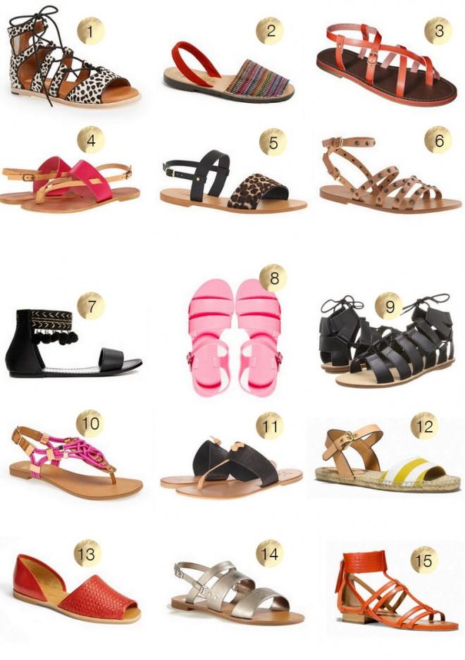 The-Best-Flat-Summer-Sandals