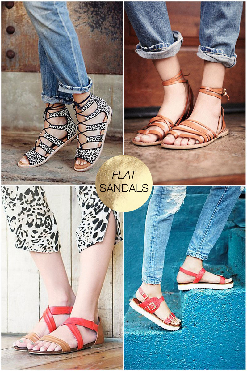 b6d4e00710c4 The Best of Flat Sandals - The Effortless Chic