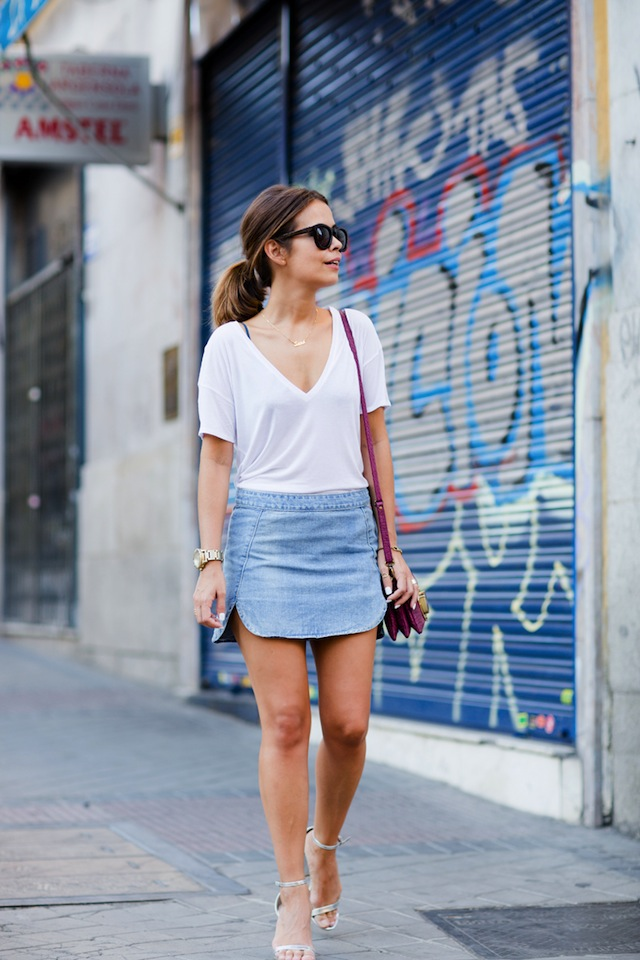 10 Ways To Wear A Skirt - The Effortless Chic - A lifestyle blog ...