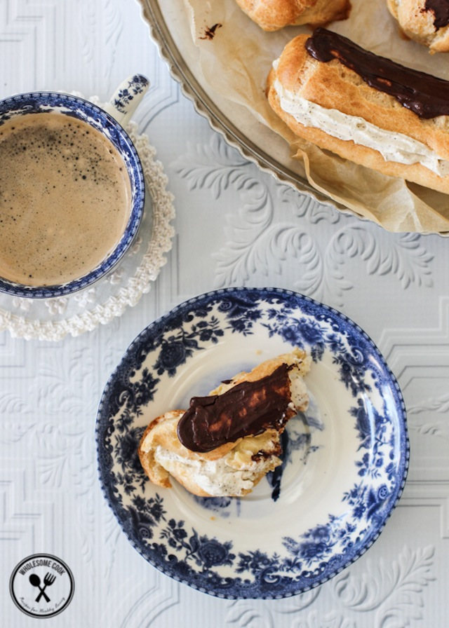 Easy-Choux-Pastry-Recipe-for-Coffee-Cream-Eclairs-6