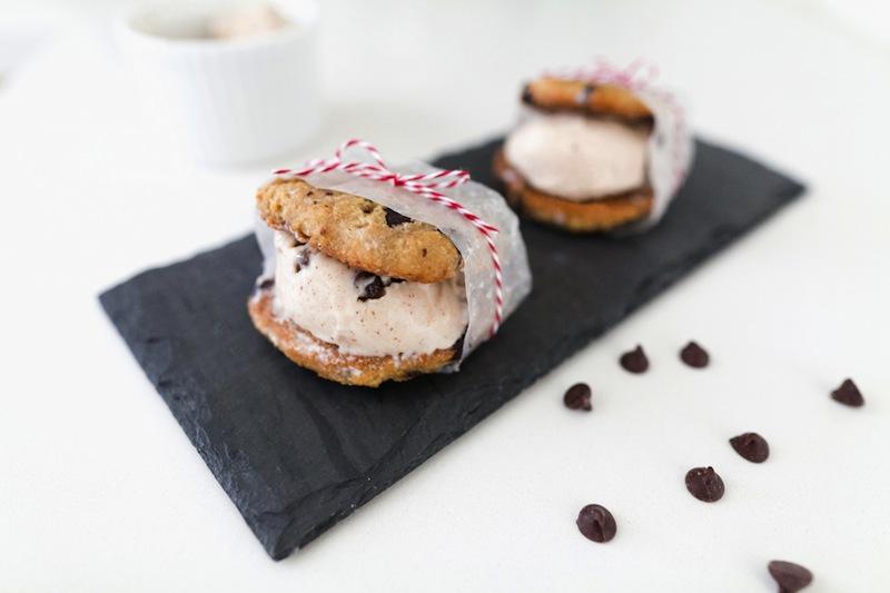 Gluten + Dairy Free Ice Cream Sandwiches | The Effortless Chic