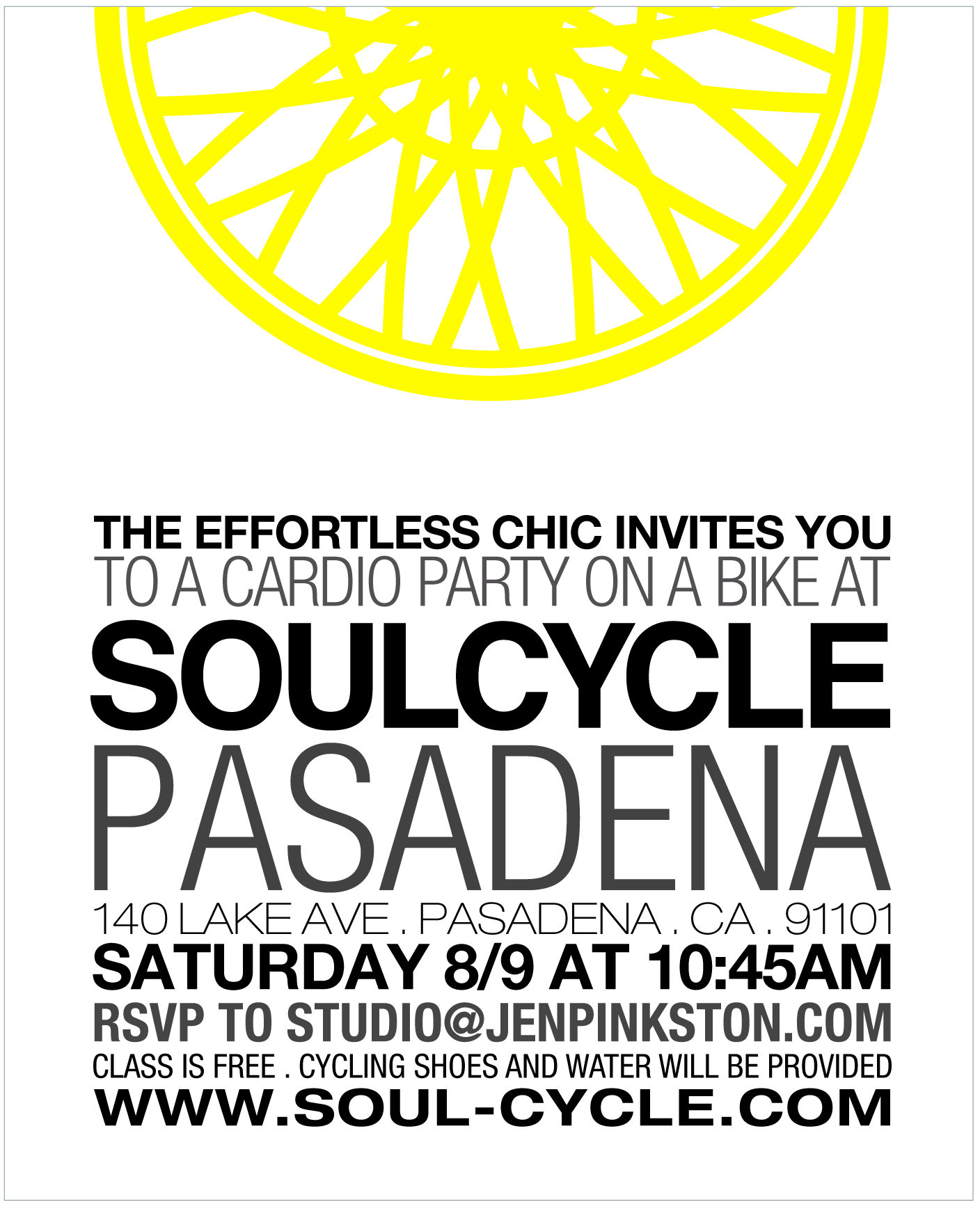 SoulCycle PDNA- The Effortless Chic