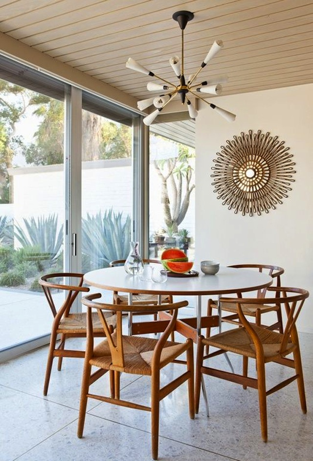 Vibrant Vignette Round Dining Table