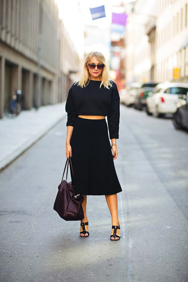 10 Ways To Wear All Black The Effortless Chic
