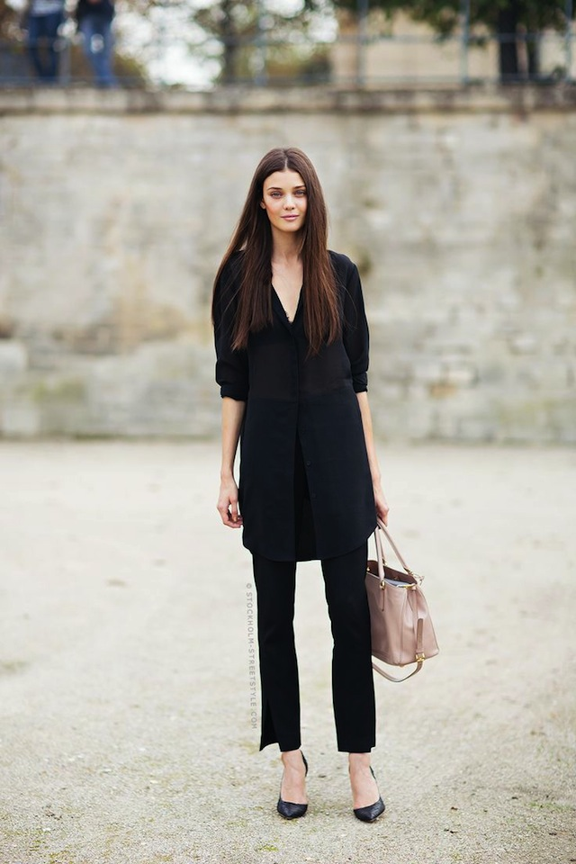 d8d2603011b 10 Ways To Wear All Black - The Effortless Chic