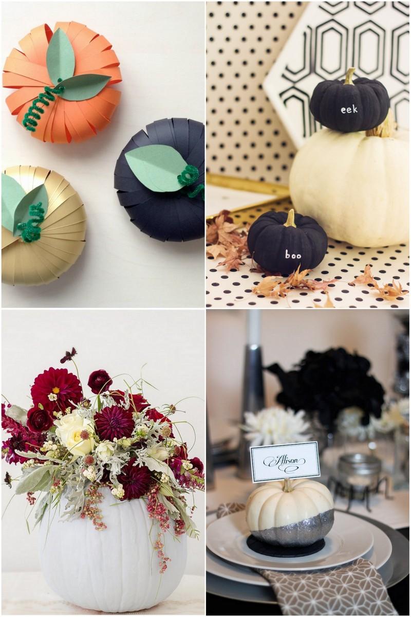 Four Pumpkin Decorating Ideas