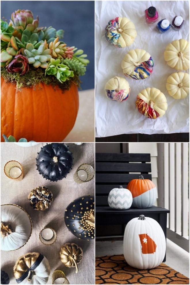 Stylish Pumpkin Decorating Ideas