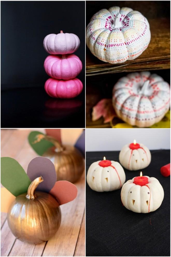 Mini Pumpkin Decorating Ideas