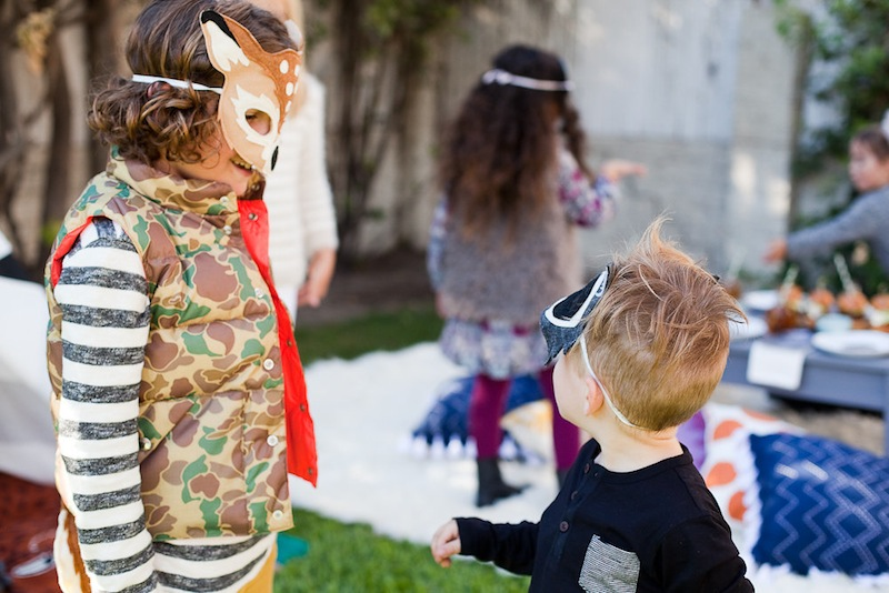 Children at the Kids Halloween Party