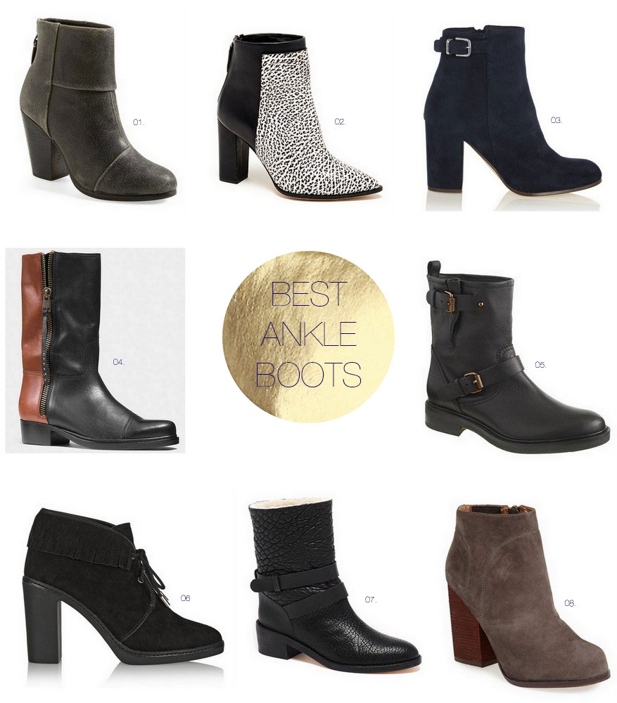 best-ankle-boots