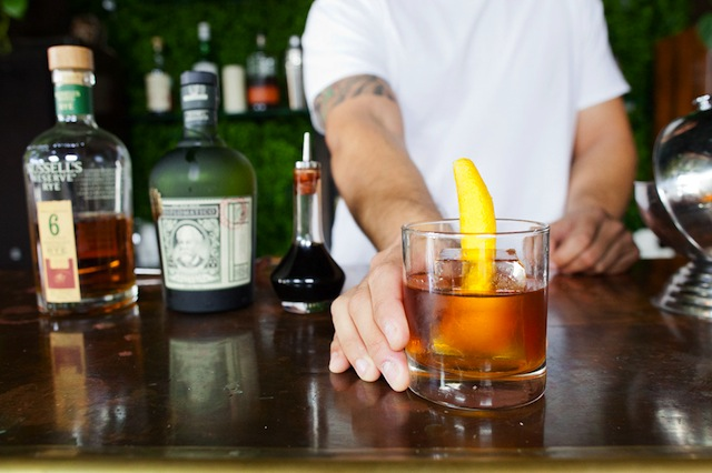 Cocktail Hour // Aged Rum Old Fashioned | The Effortless Chic
