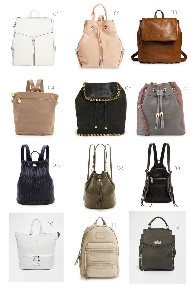 Cool Hunting // The Backpack Purse - The Effortless Chic