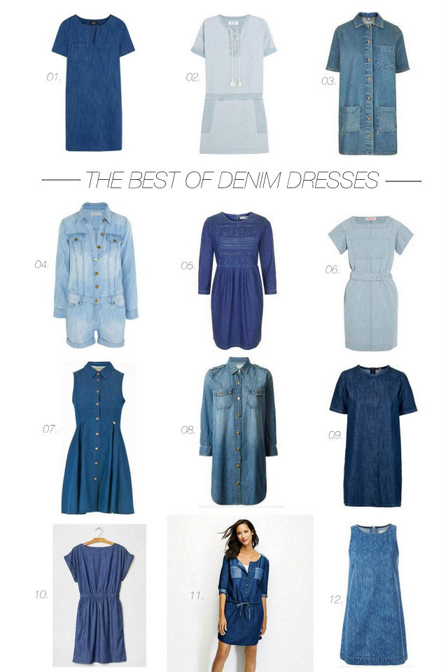 The_Best_Denim_Dresses_For_Summer
