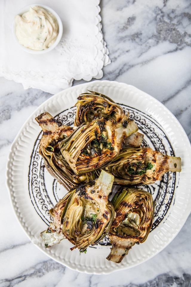 Grilled-Artichockes
