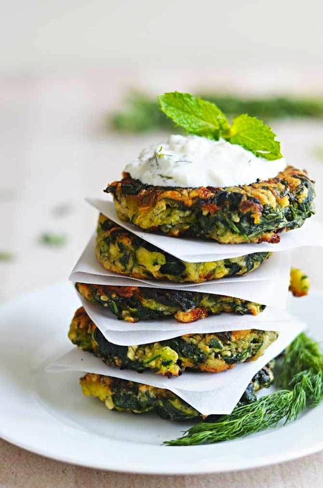 Zucchini-Spinach-Feta-Fritters-3