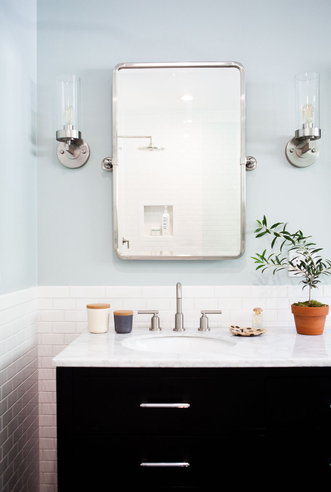 Master Bathroom Renovation Before After The Effortless Chic