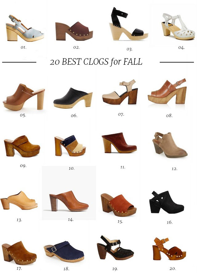 best-clog-shoes-2015