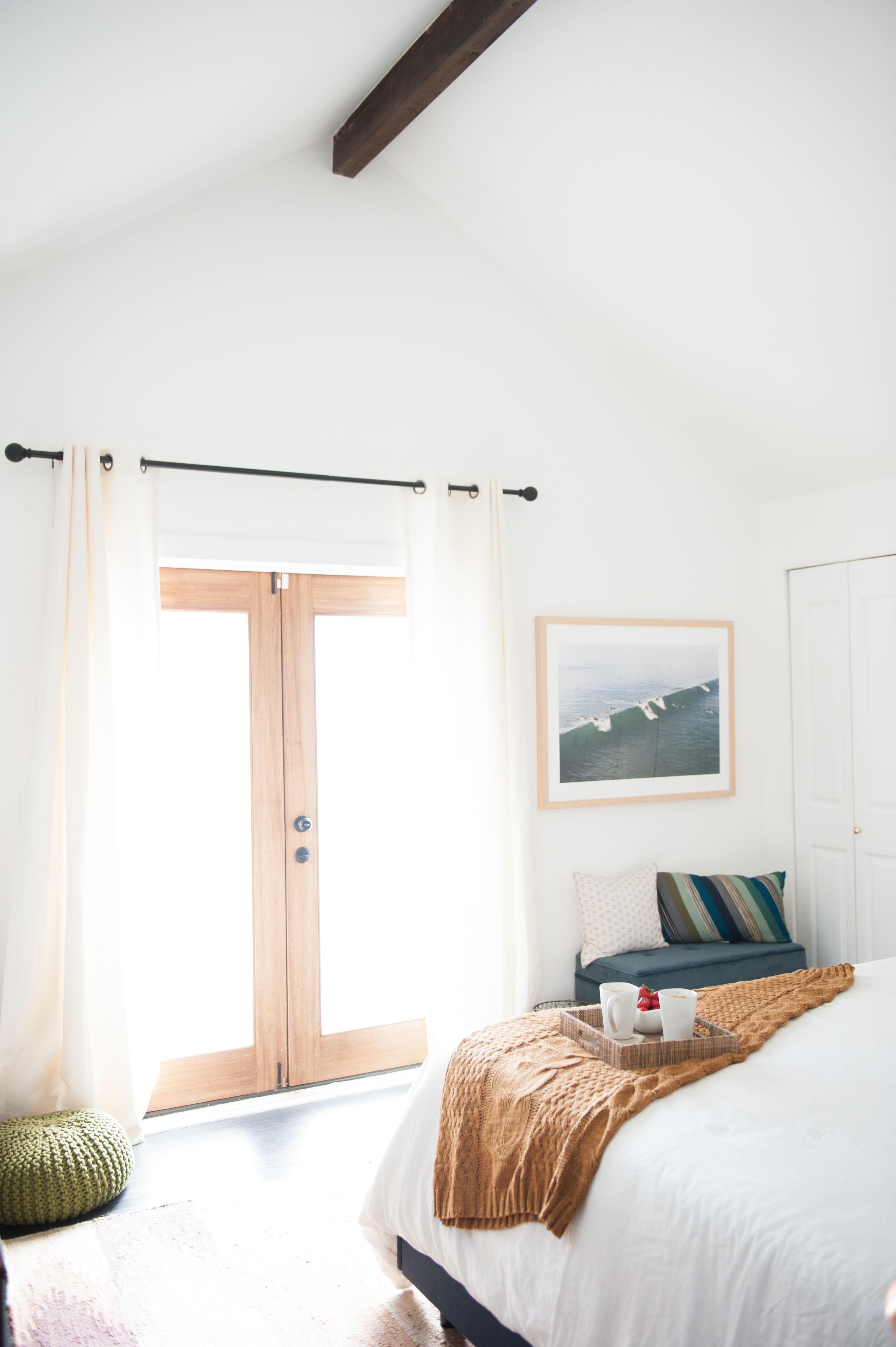 Before + After // Master Bedroom Makeover - The Effortless Chic
