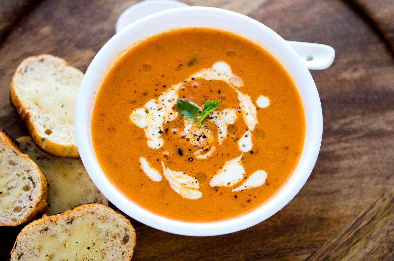 Tomato And Basil Soup1