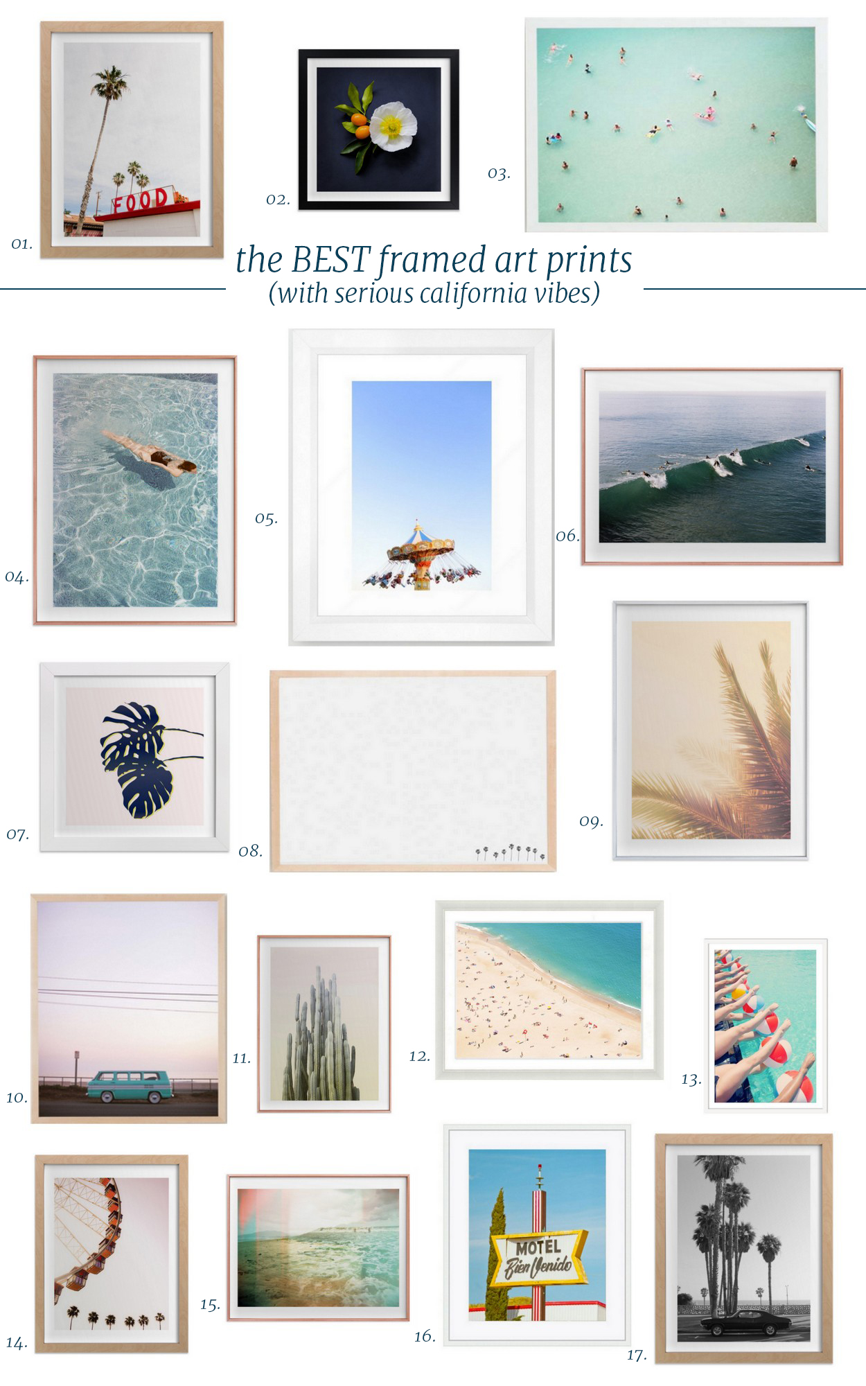 Cool Hunting // Framed Art with Serious California Vibes - The ...
