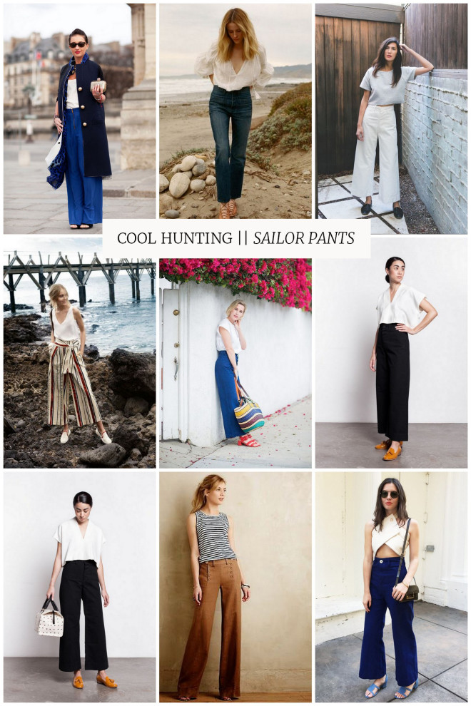 cool hunting sailor pants the effortless chic