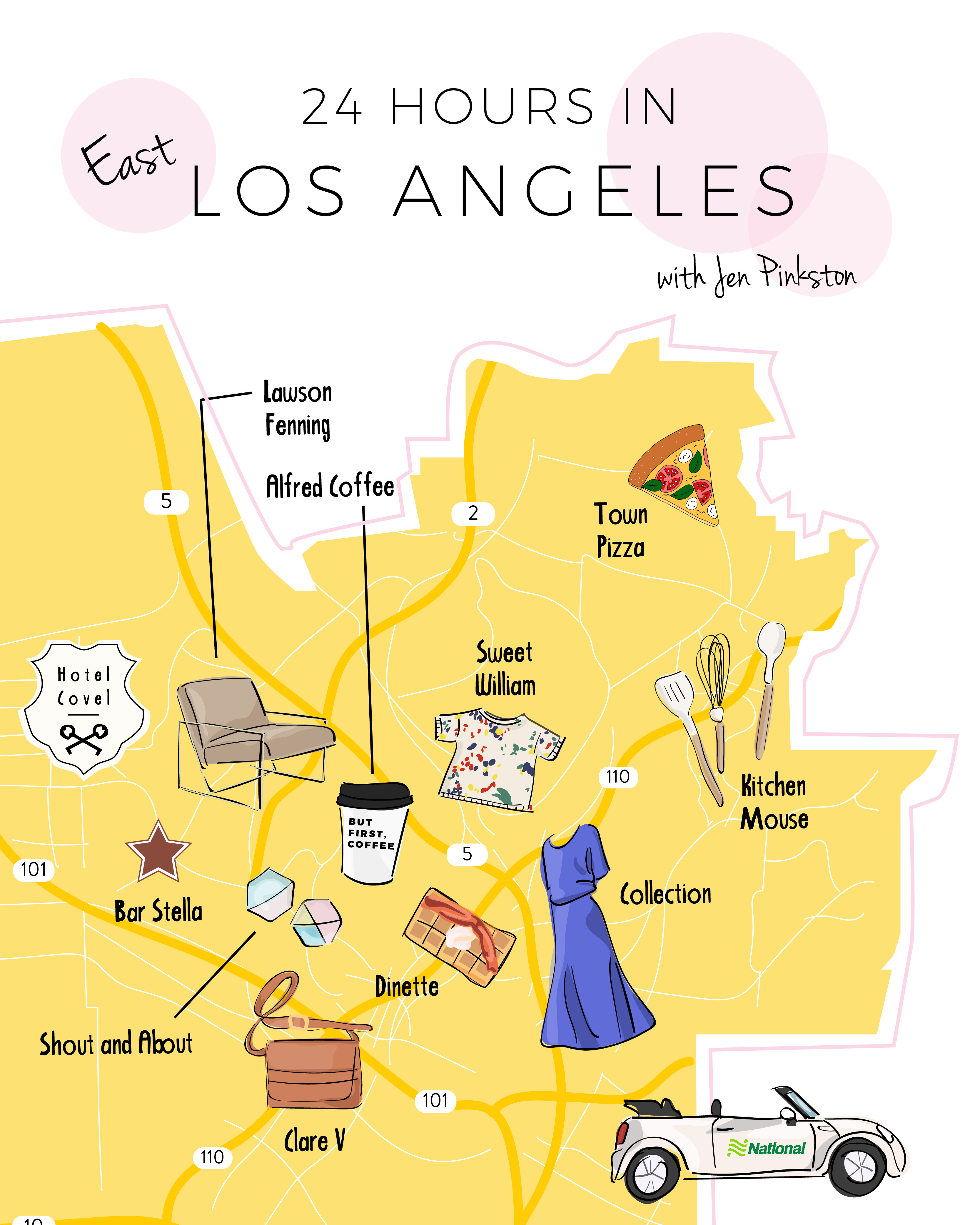 EffortlessChic_24 Hours in Los Angeles Map-01
