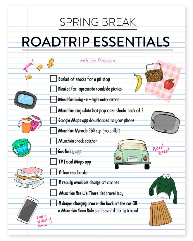 Travel Tips Packing Hacks Tips Essentials: The Road Trip - The Effortless Chic
