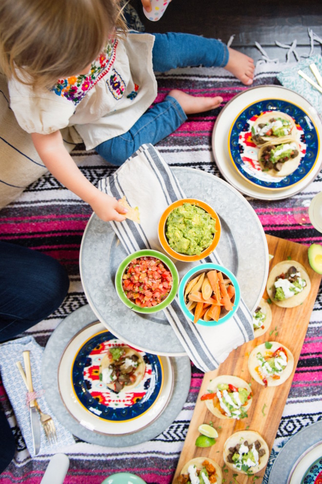 Tacos Margaritas A Cinco De Mayo Picnic The