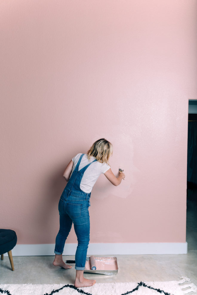 DIY || Bold Accent Wall - The Effortless Chic