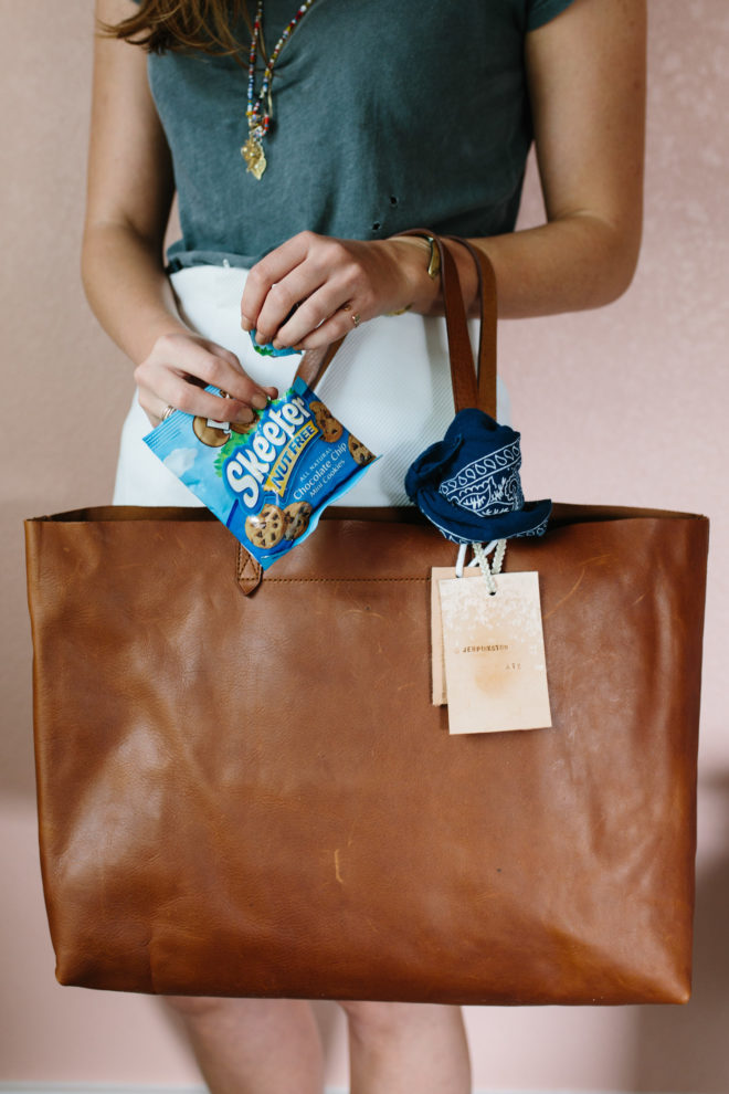 Diy Leather Luggage Tag The Effortless Chic