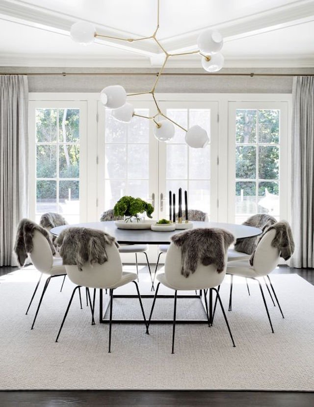 Fresh oval dining tables