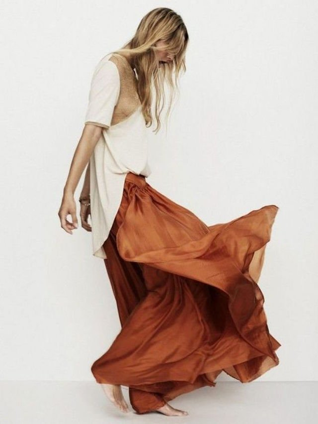 Cool Hunting Rust Colored Dresses For Fall The