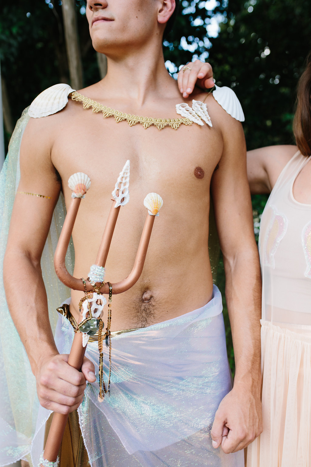The Merman costume