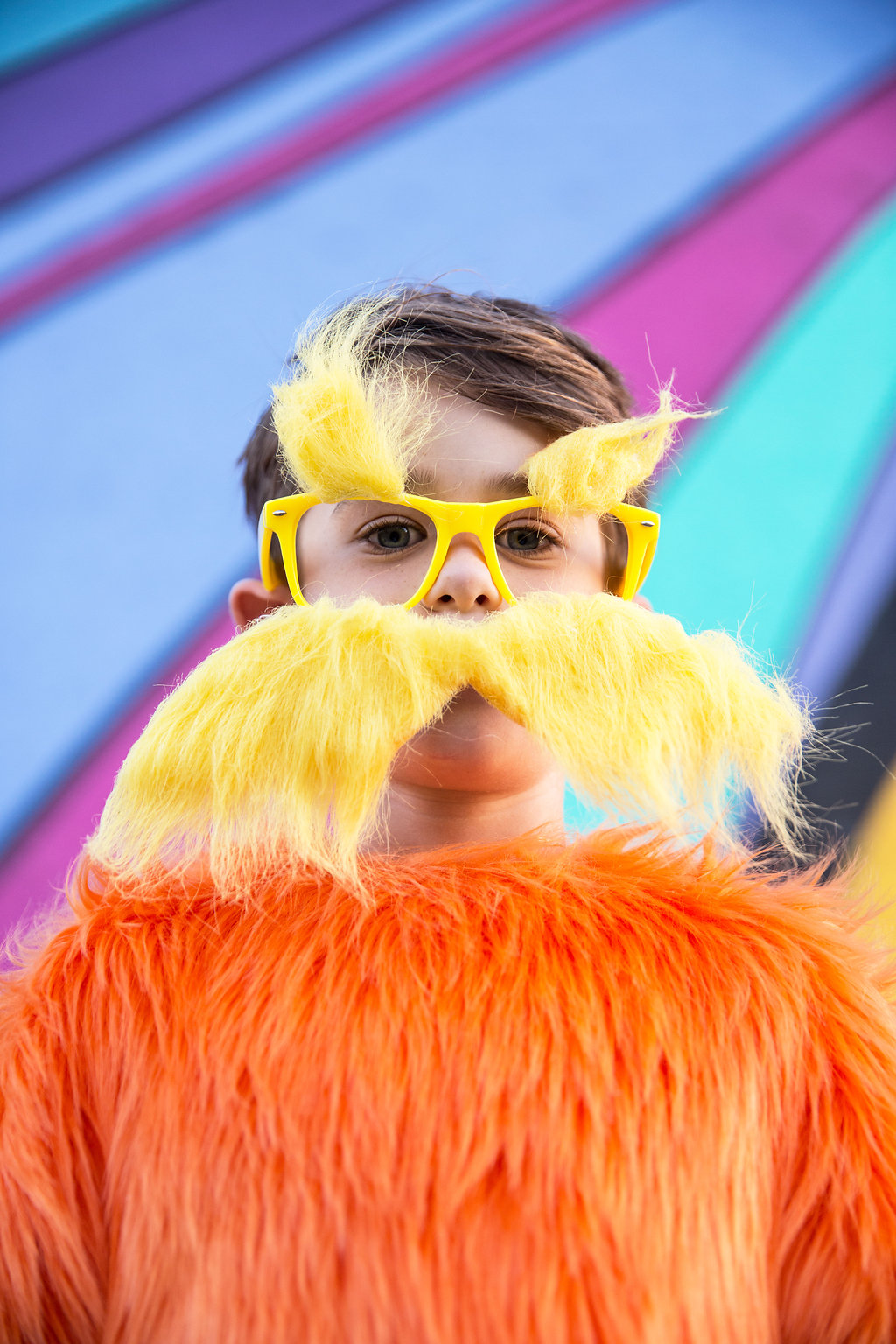 The lorax costume glasses
